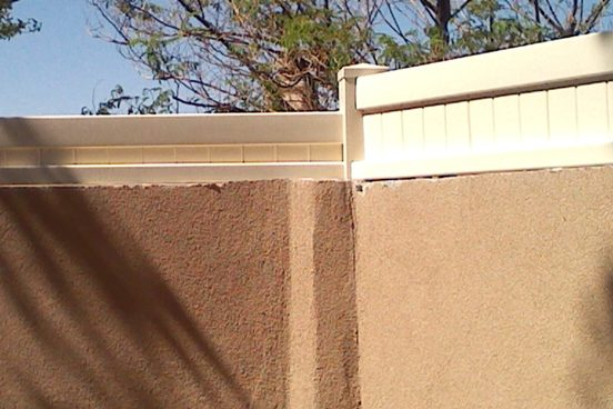 Stucco 8 inch Topper